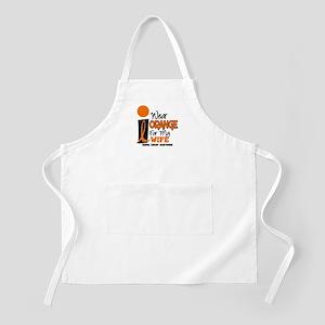 I Wear Orange For My Wife 9 KC BBQ Apron