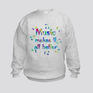 Music Kids Sweatshirt