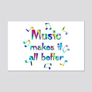 Music Mini Poster Print