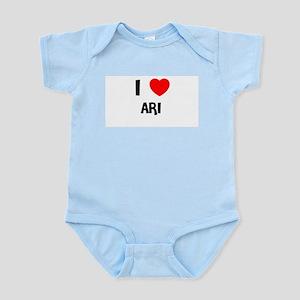 I LOVE ARI Infant Creeper