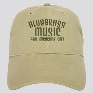 Bluegrass Music Real Musicians Only Cap
