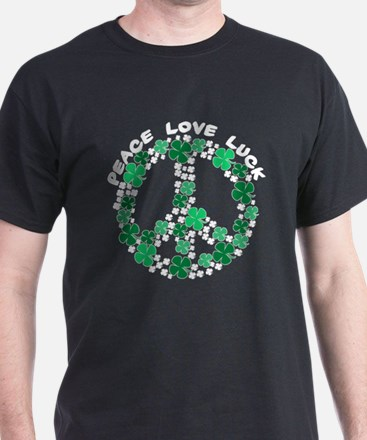 Peace Love Luck T-Shirt