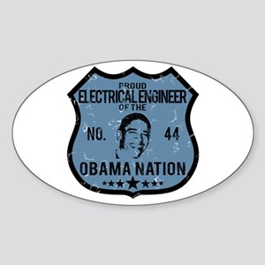 Electrical Engineer Obama Nation Oval Sticker