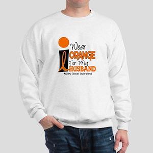 I Wear Orange For My Husband 9 KC Sweatshirt