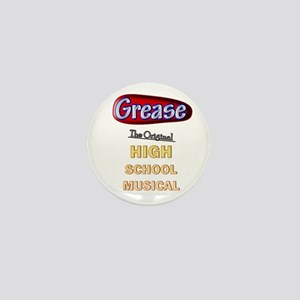 Grease VS. High School Musical Mini Button