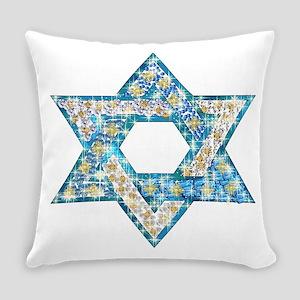 Gems and Sparkles Hanukkah Everyday Pillow
