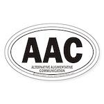 AAC Oval Sticker