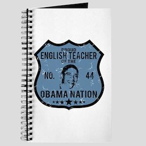 English Teacher Obama Nation Journal