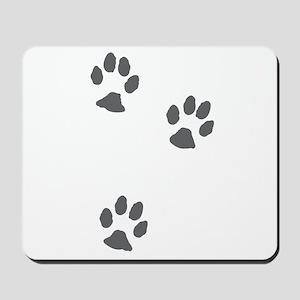Three paws Mousepad