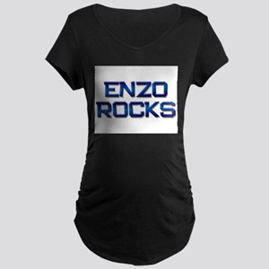 enzo rocks Maternity Dark T-Shirt