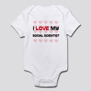 I Love My Social Scientist Infant Bodysuit