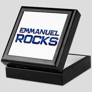 emmanuel rocks Keepsake Box