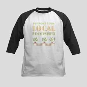 Foodshed Kids Baseball Jersey