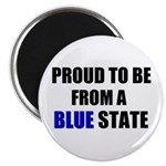 Blue State Magnet