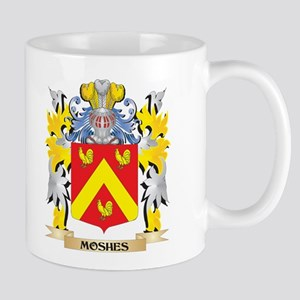 Moshes Coat of Arms - Family Crest Mugs
