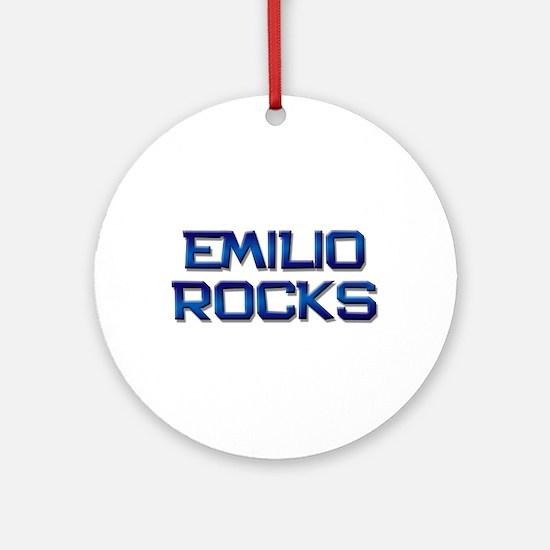 emilio rocks Ornament (Round)