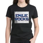 emilie rocks Women's Dark T-Shirt