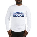 emilie rocks Long Sleeve T-Shirt