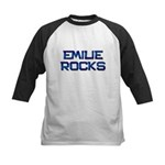 emilie rocks Kids Baseball Jersey