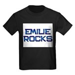 emilie rocks Kids Dark T-Shirt
