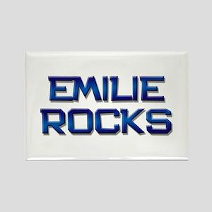emilie rocks Rectangle Magnet