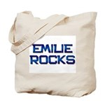 emilie rocks Tote Bag