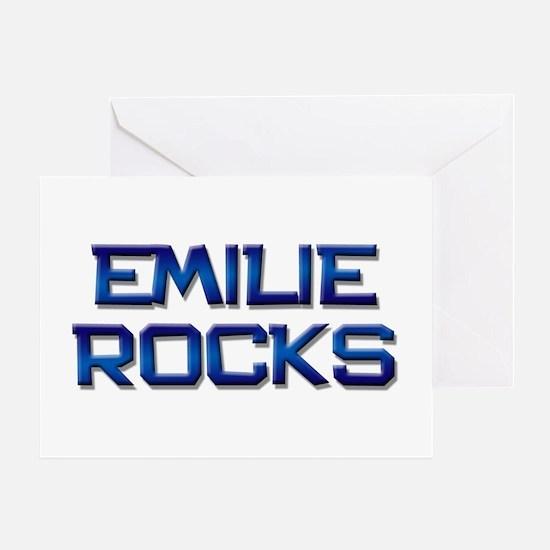 emilie rocks Greeting Card