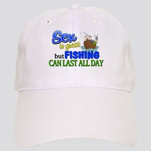 Fishing Can Last All Day Cap