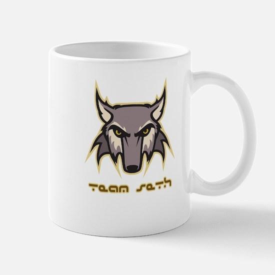 Team Seth (wolf logo) Mug
