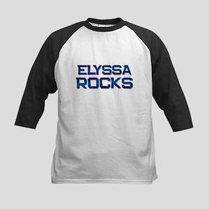 elyssa rocks Kids Baseball Jersey