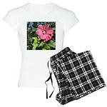 Pink Hibiscus Tropical Flower Pajamas