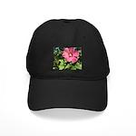 Pink Hibiscus Tropical Flower Baseball Hat