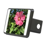 Pink Hibiscus Tropical Flower Hitch Cover