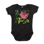 Pink Hibiscus Tropical Flower Body Suit