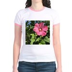 Pink Hibiscus Tropical Flower T-Shirt
