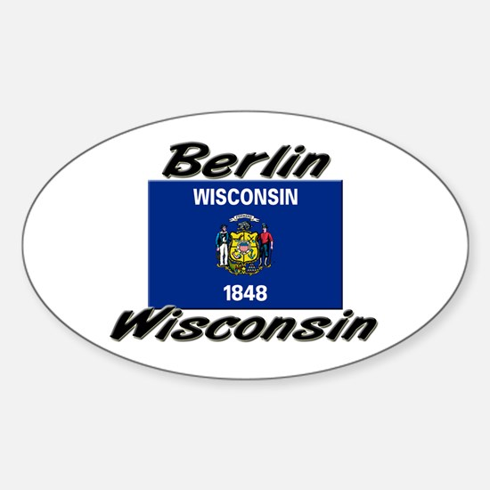 Berlin Wisconsin Oval Decal