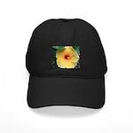 Yellow Hibiscus Tropical Flower Baseball Hat