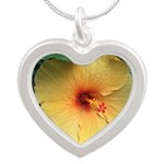 Yellow Hibiscus Tropical Flower Necklaces