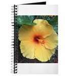 Yellow Hibiscus Tropical Flower Journal