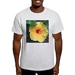 Yellow Hibiscus Tropical Flower T-Shirt