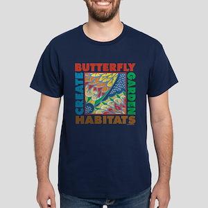 Butterfly Garden Dark T-Shirt