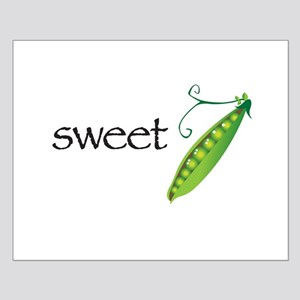 Sweet Pea Simple Small Poster