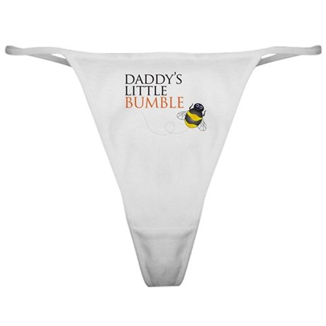 Daddy's Bumble Bee Classic Thong