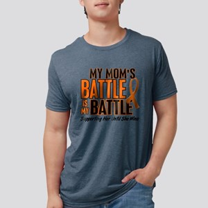 My Battle Too (Mom) Orange T-Shirt