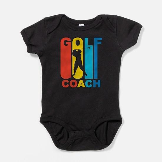 Vintage Golf Coach Graphic T Shirt Body Suit