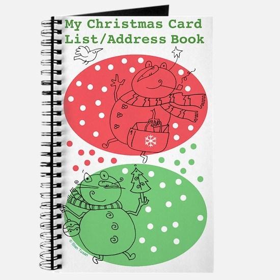 Christmas Card List/Address Book