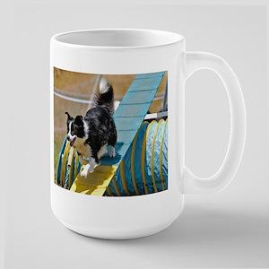 Border Collie Image 2 Large Mug