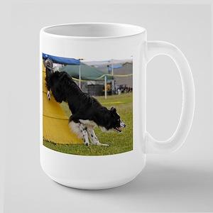 Border Collie Image 3 Large Mug