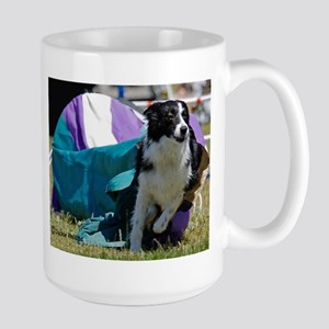 Border Collie Image 5 Large Mug