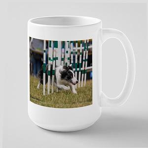 Border Collie Image 8 Large Mug